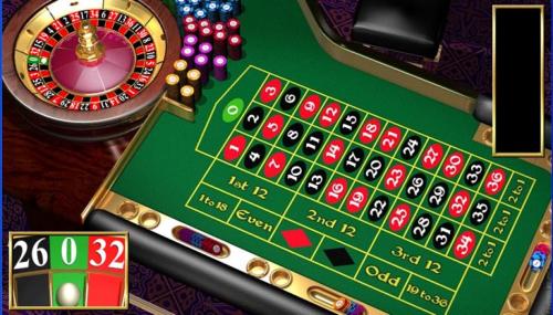 """""""Weergave van online roulette"""""""